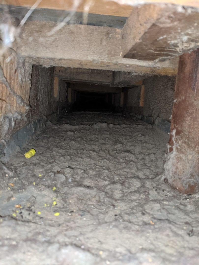 before air duct cleaning